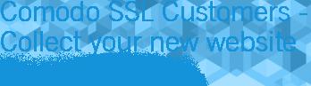 Comodo SSL Customers - Collect your new website TrustLogo