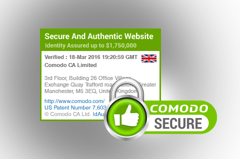 Sectigo Secure Site Seal | Install Trusted SSL Site Seal